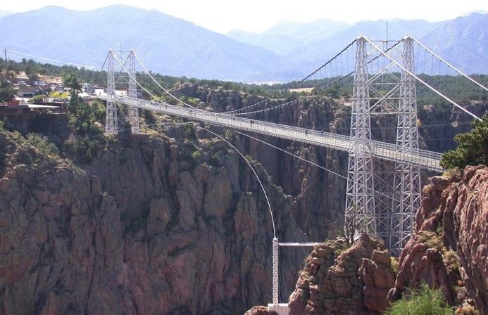 Банджи-джампинг Мост Royal Gorge