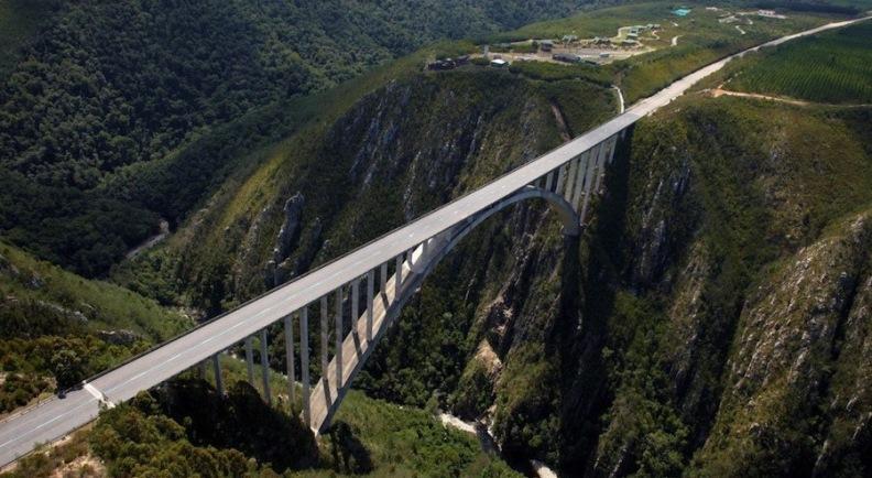 Банджи-джампинг Мост Bloukrans