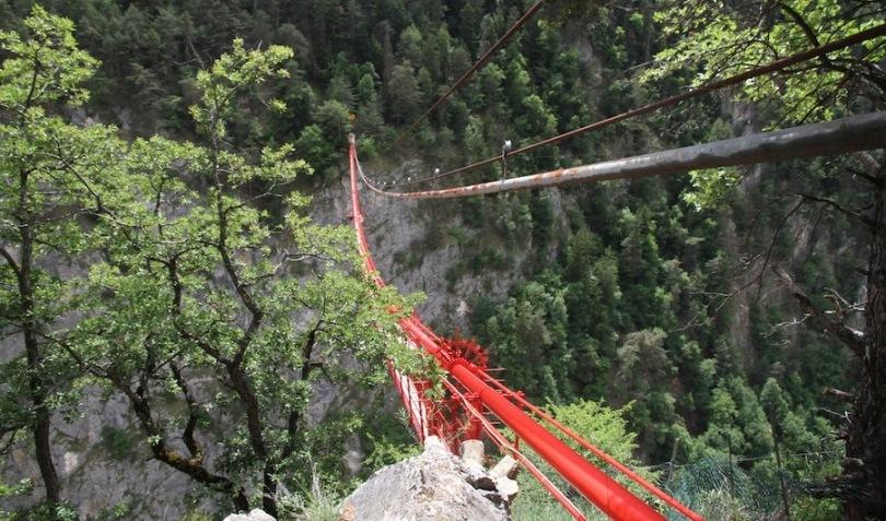 Банджи-джампинг Мост Niouc