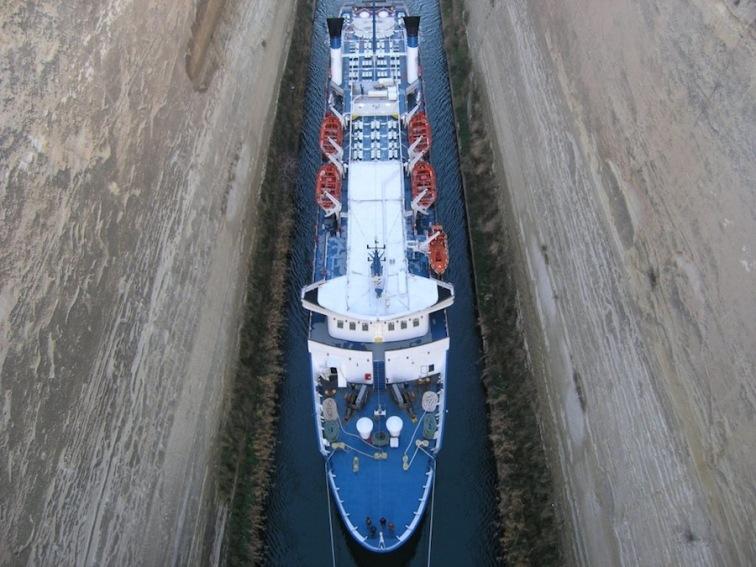 Банджи-джампинг Коринфский канал
