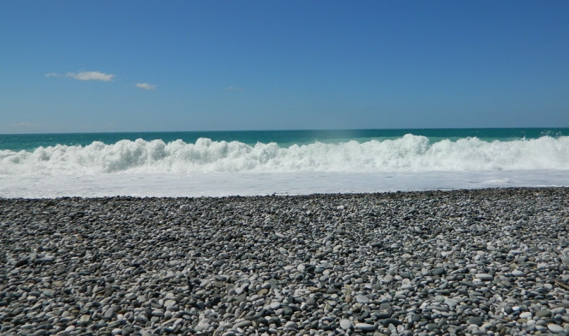 Неспокойное море для дайвинга