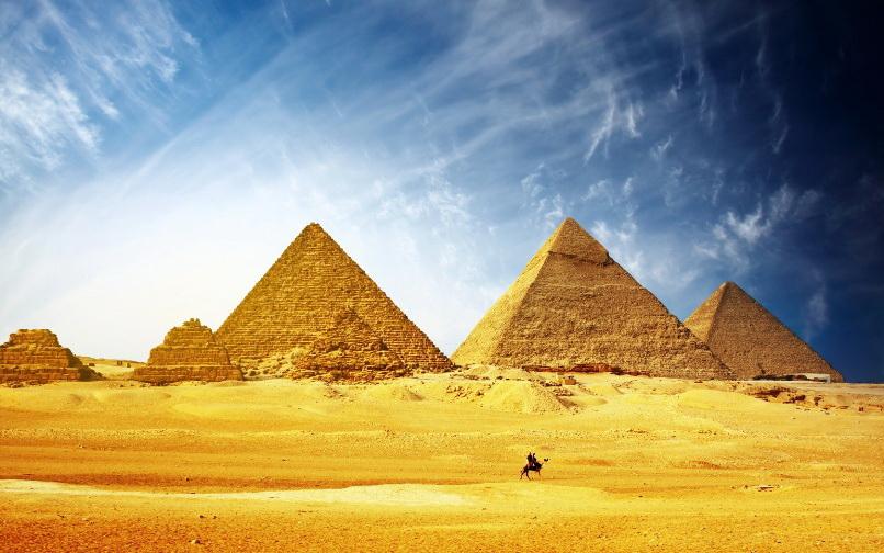 Пирамиды в Египте со смотровой площадки