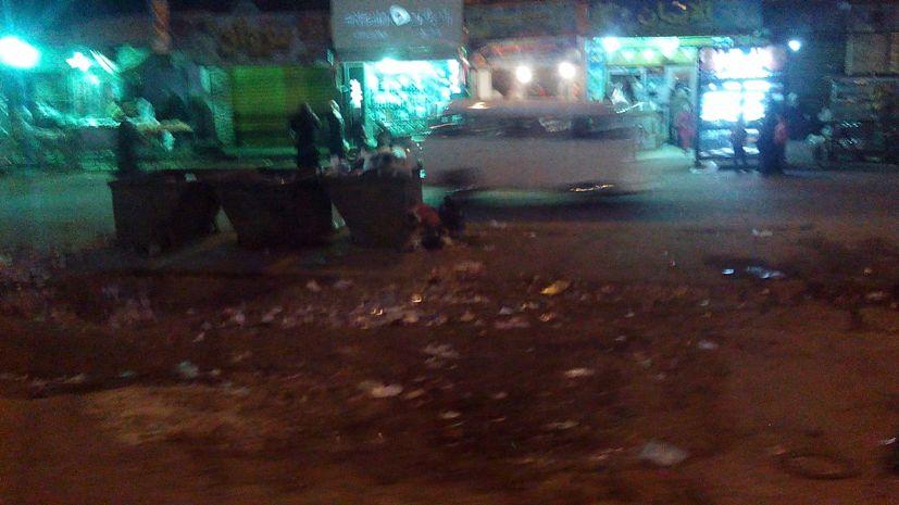 Мусор на улицах Каира