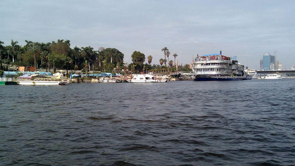 Вид с Ниала на Каир