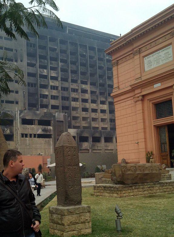 Здание правительства в Каире