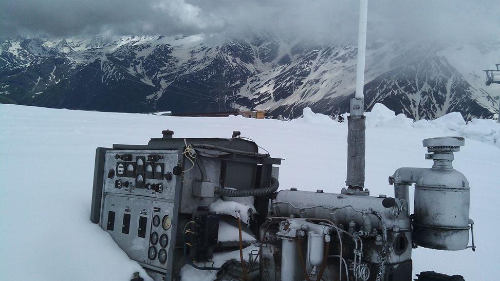 генератор на Эльбрус