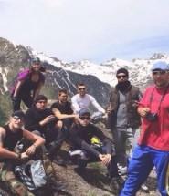 наша группа восхождения на Эльбрус