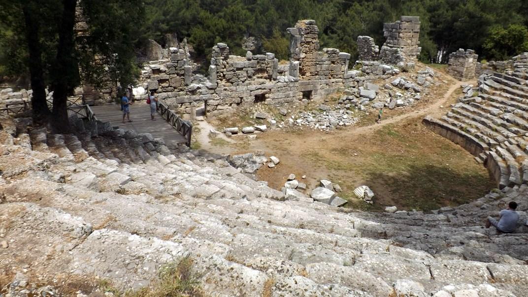 Амфитеатр в Фазелисе