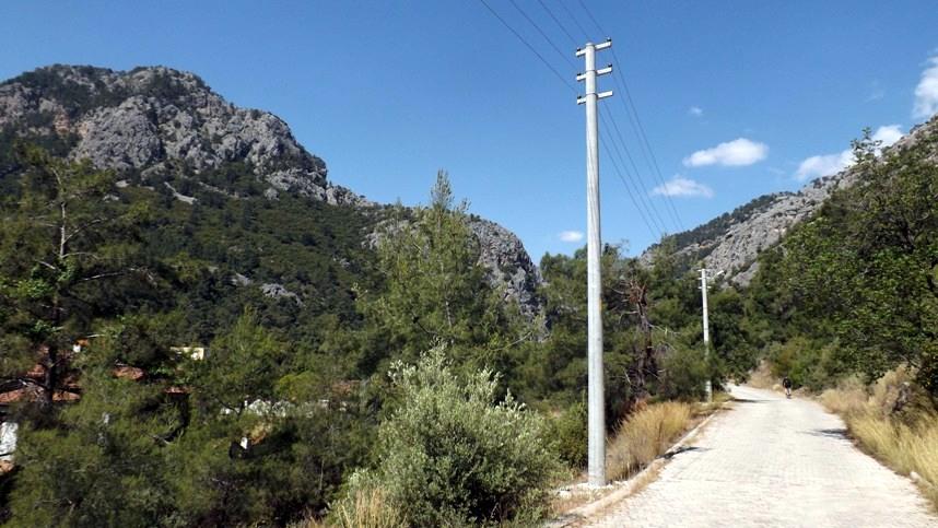 Дорога к каньону Гейнюк