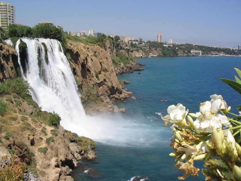 Дюденский водопад Анталья