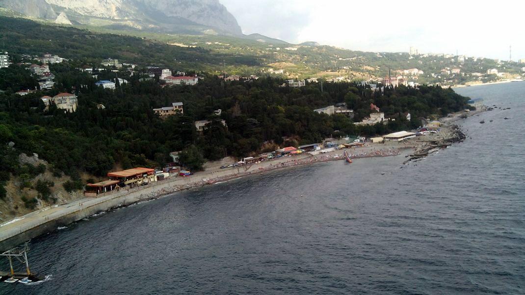 Крым Симеиз со скалы Дива