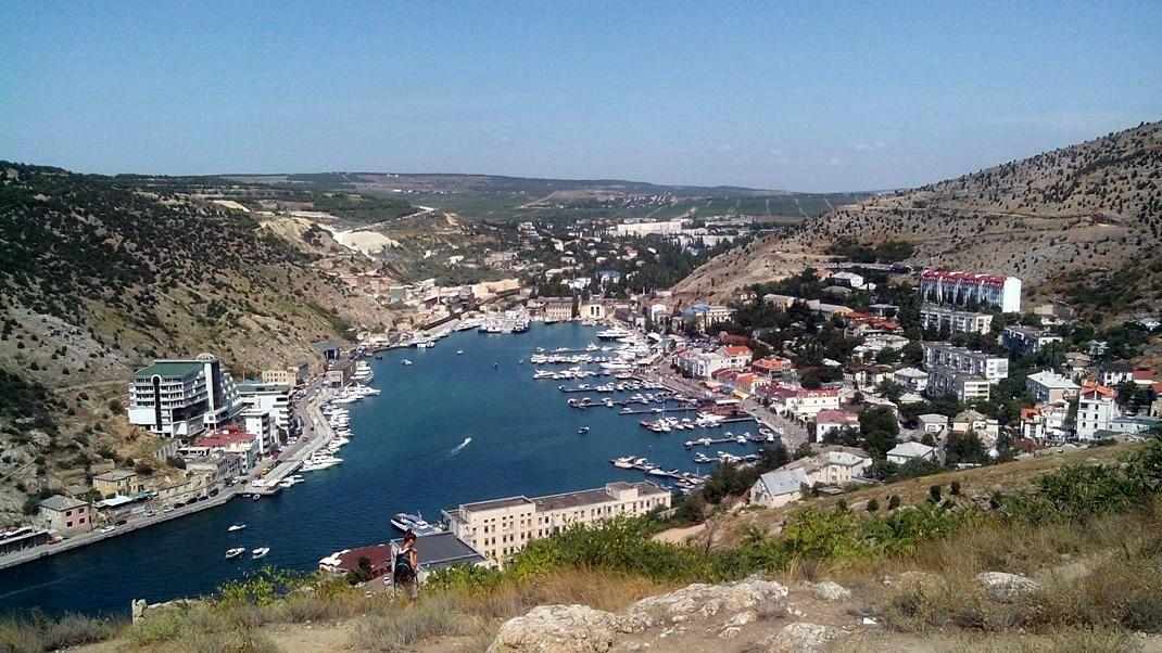 Крым бухта Балаклавы