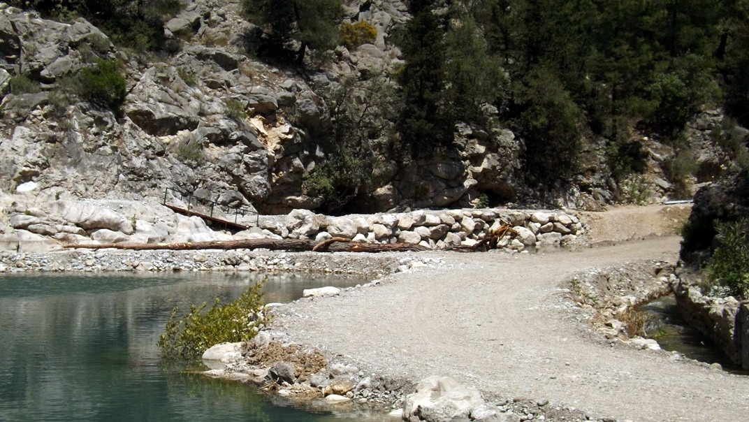 Территория каньона Гейнюк