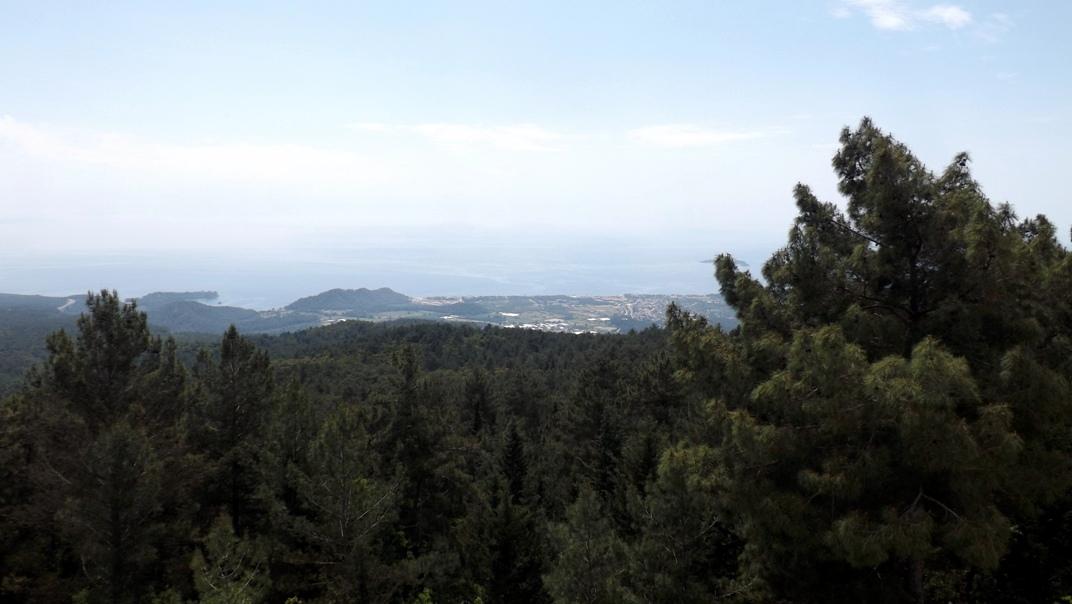 Вид на побережье около Кемера