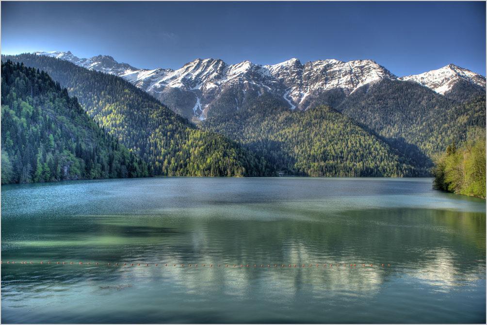 Джиппинг в Абхазии к озеру Рица