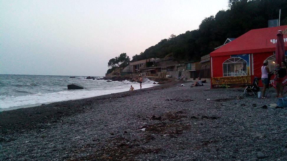 Отдых в Алупке пляж