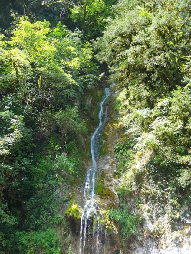 Джиппинг в Абхазии, Водопад мужские слезы