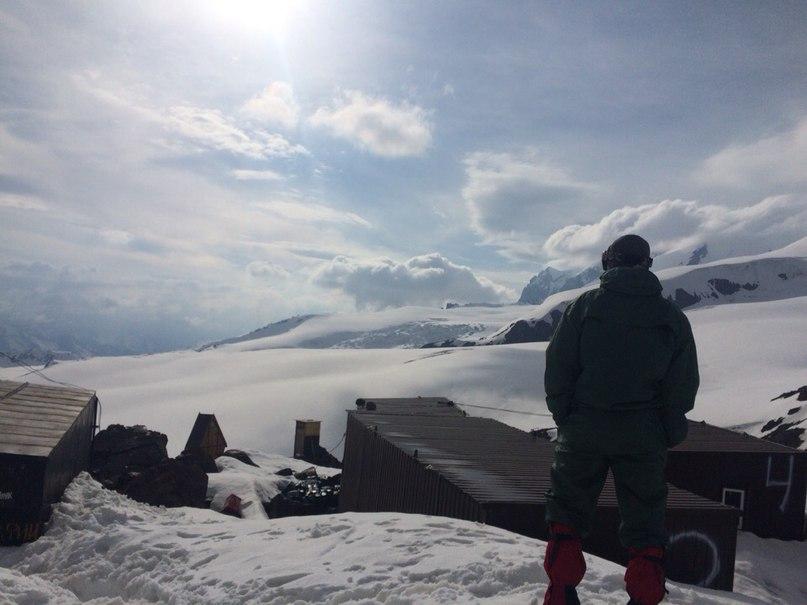Хижины на 3800 м