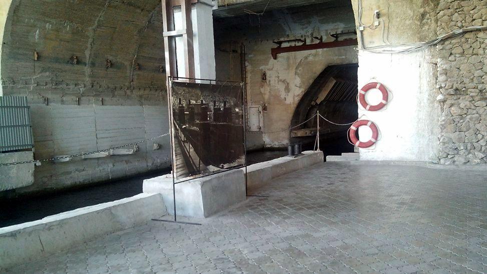 Балаклава база подводные лодки