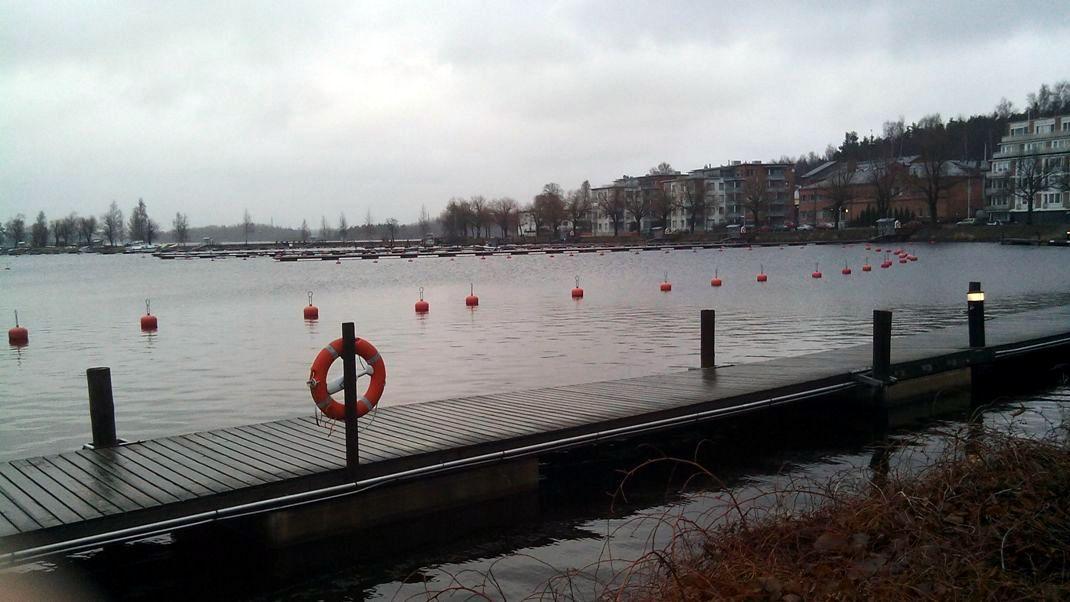 Озеро в Лаппеенранте