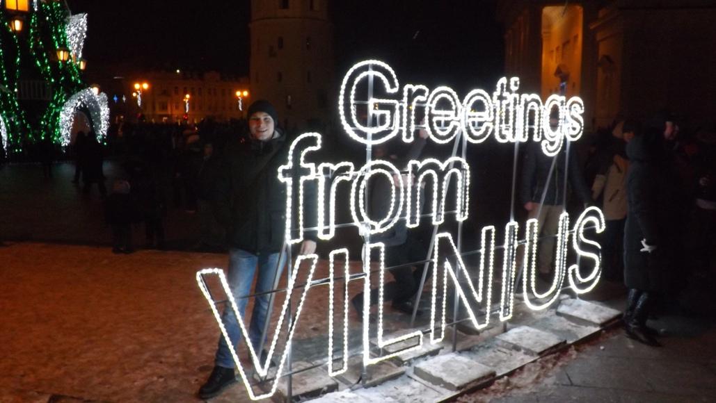 Новый год 2016 в Вильнюсе