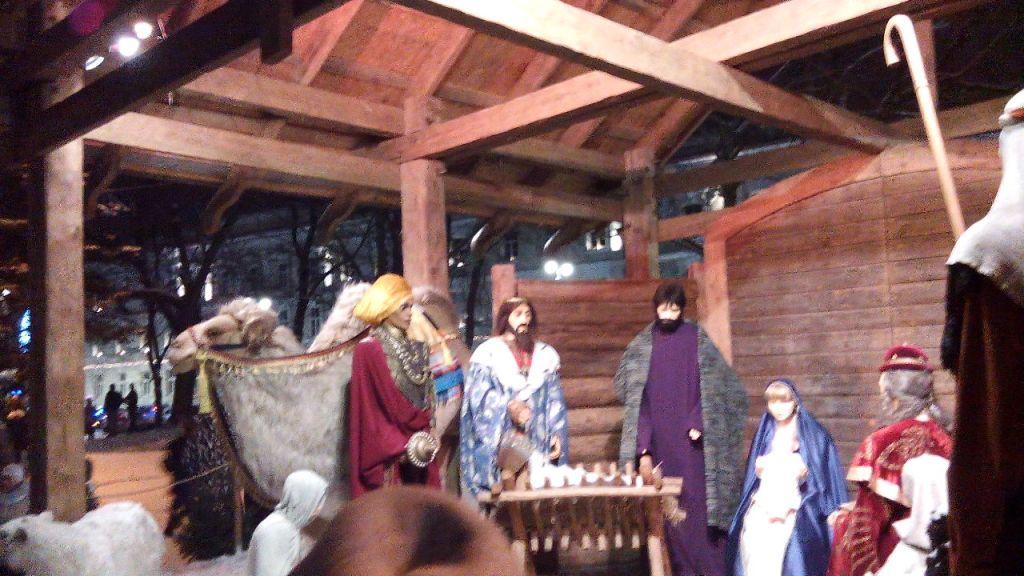 Сцена рождение Иисуса Вильнюс