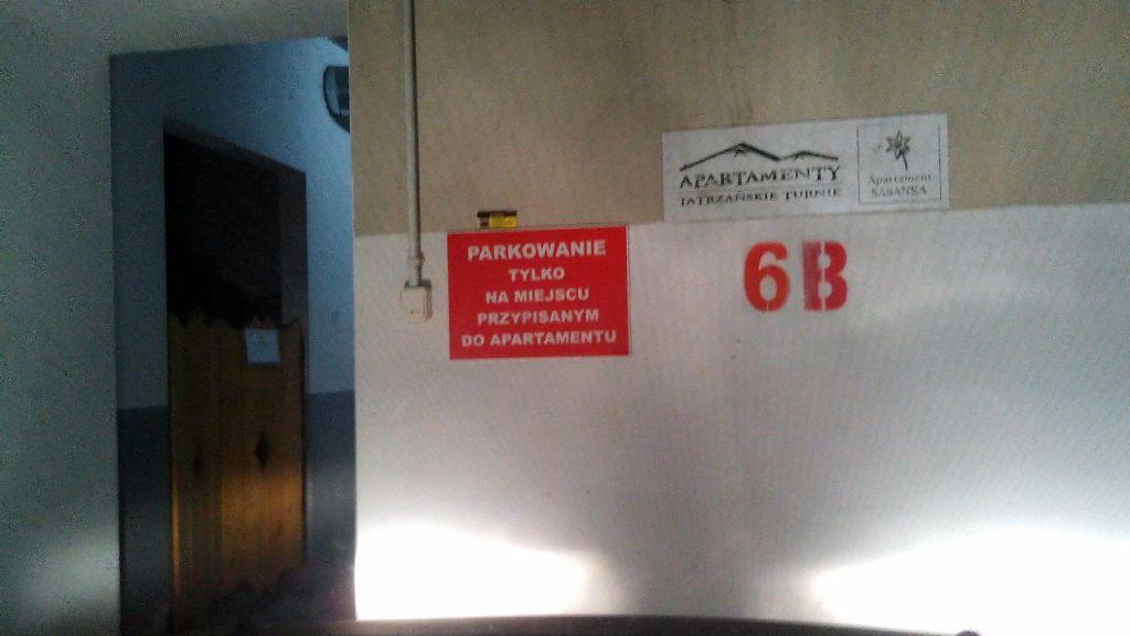 Парковка в Закопане