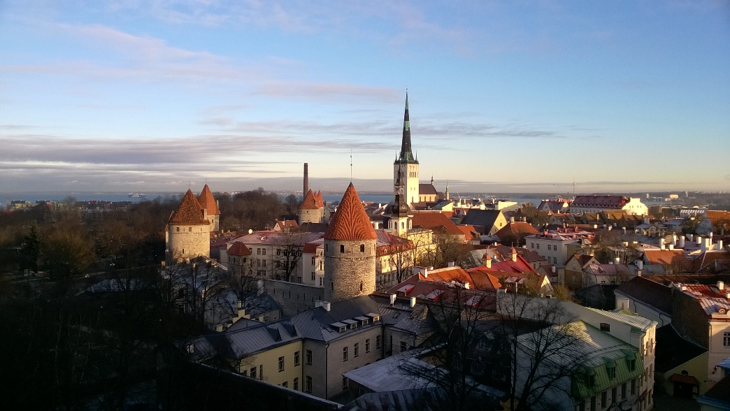 Старый Таллин днем