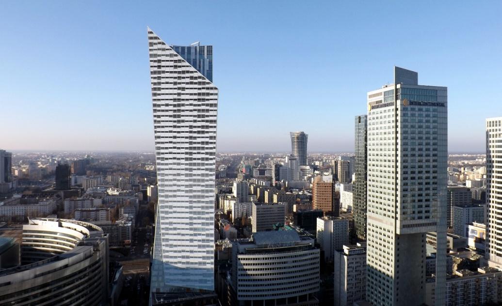Вид со смотровой Варшава