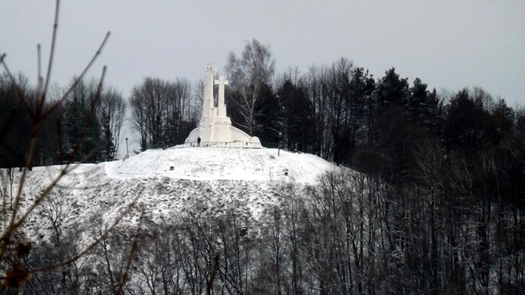 Вильнюс памятник 3 креста