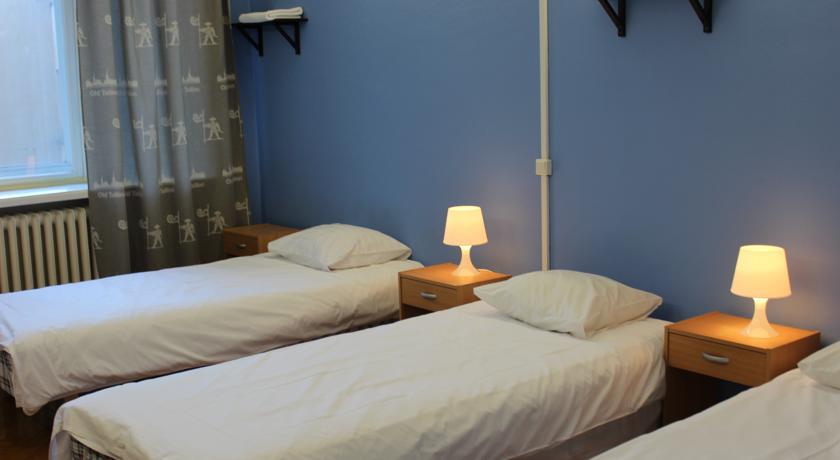 Комната в хостеле old Tallin