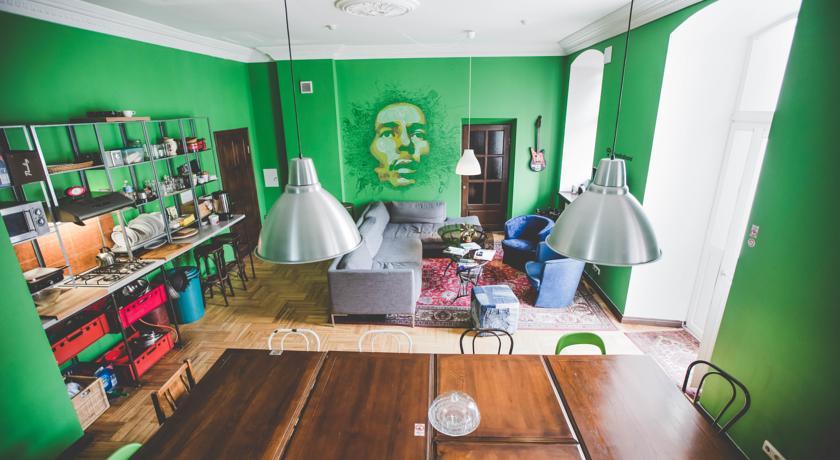 Кухня хостел Ямайка в Вильнюсе