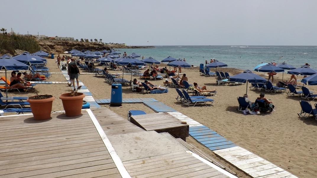 Пляж в Пафосе