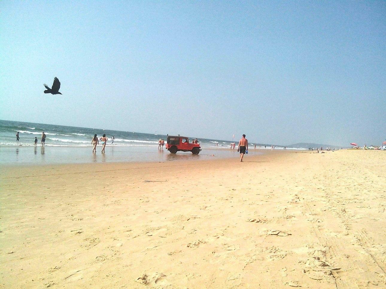 Пляж Кандолим Гоа