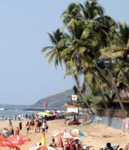 Пляж анджуна Гоа