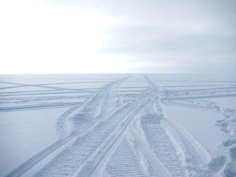 Вид на Ладожское озеро Карелия