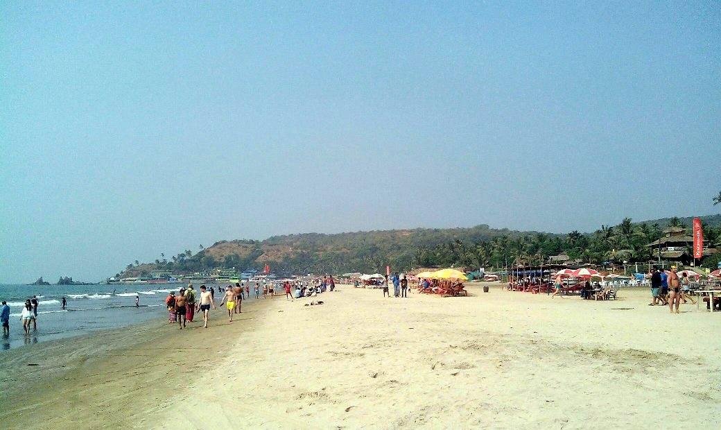 Пляж Арамболь, вид