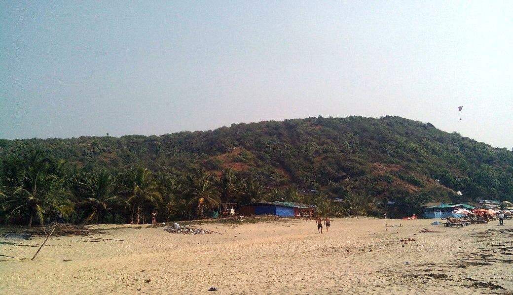 Пляж чуть дальше Арамболя