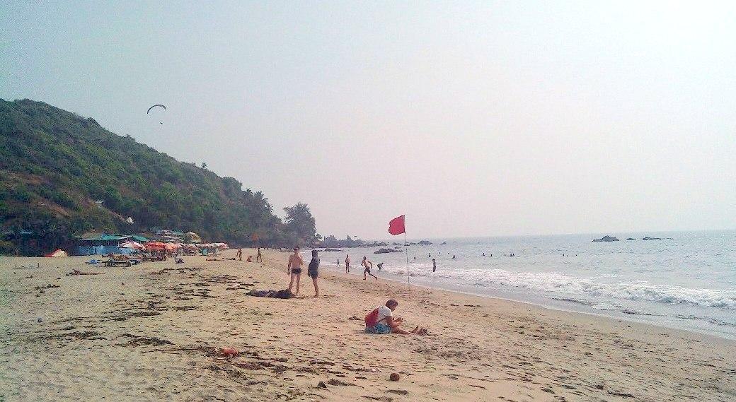 Пляж за Арамболем