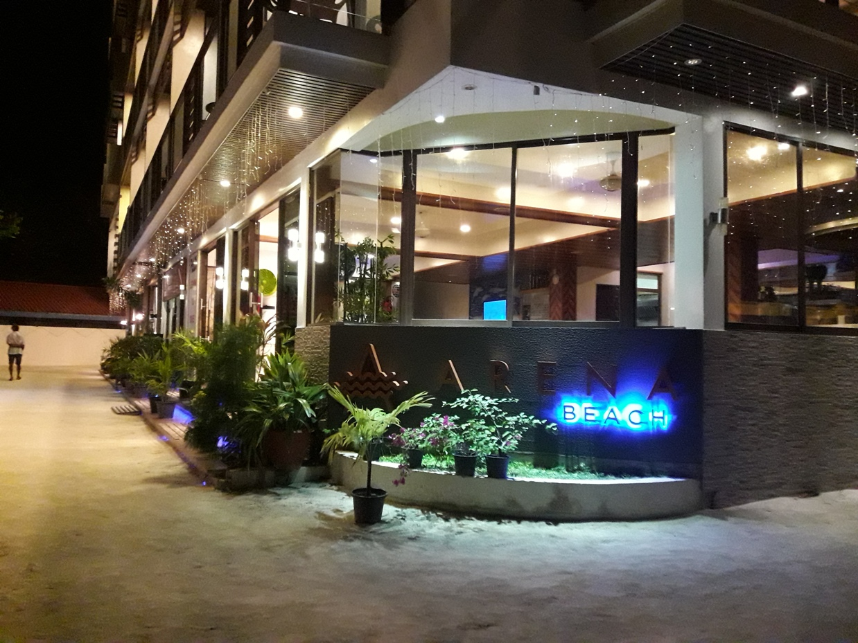 Арена бич отель