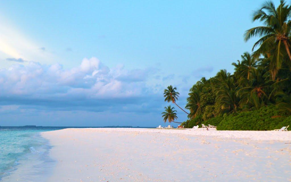 Баунти пляж на Фихалхохи