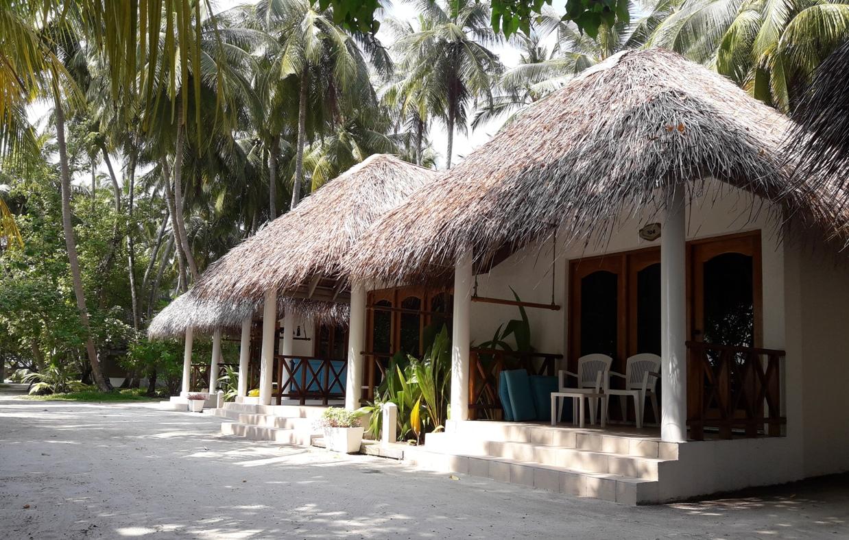 Обычные домики на Фихалхохи