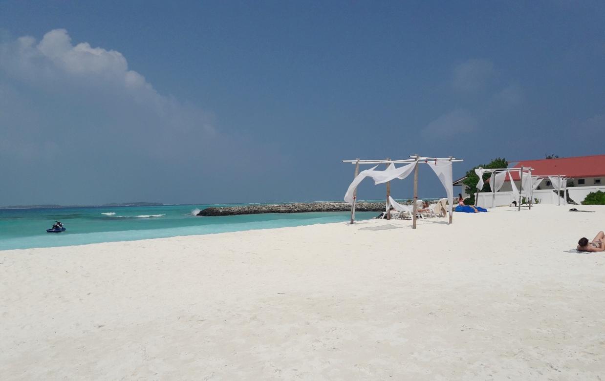 Один из пляжей Маафуши