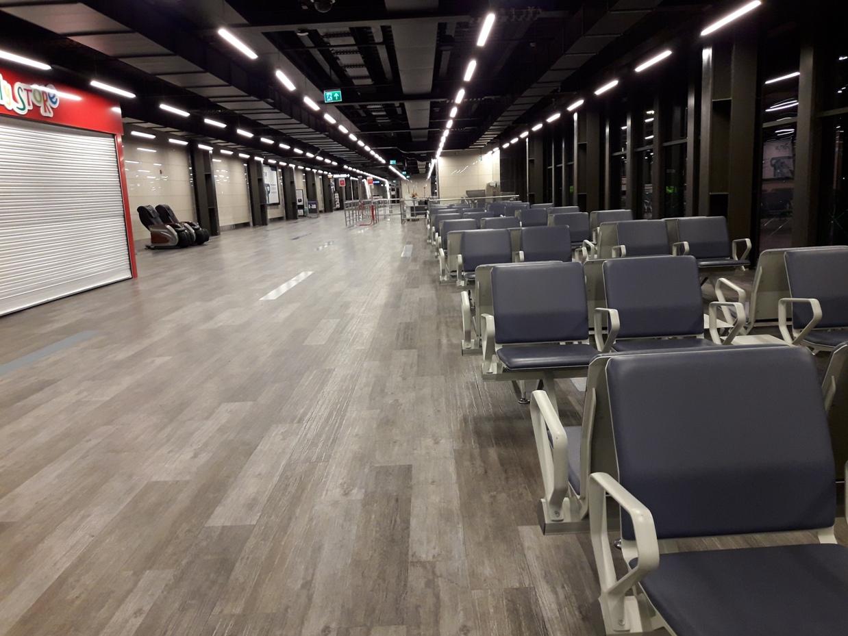 Ожидание в аэропорту Стамбула