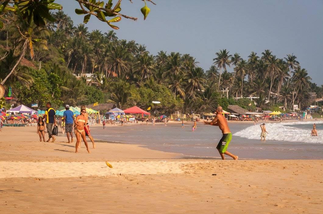 Пляж в Мирисса