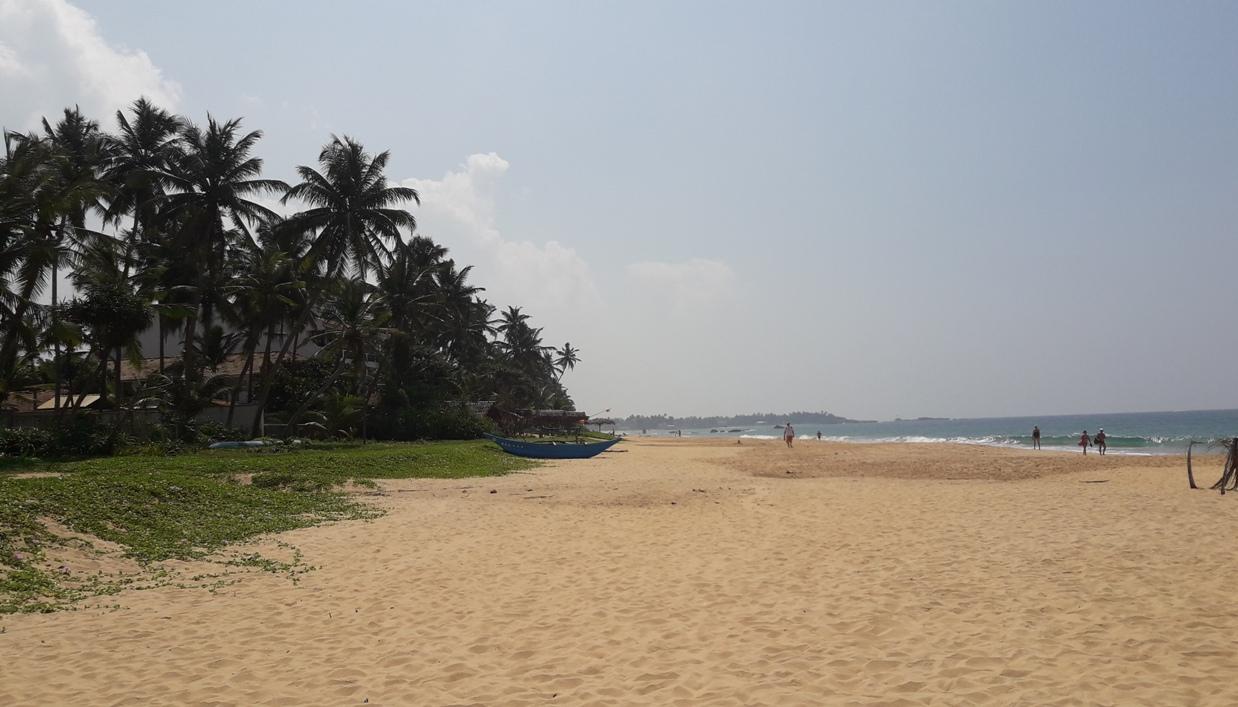 Пляж в Тхиранагама
