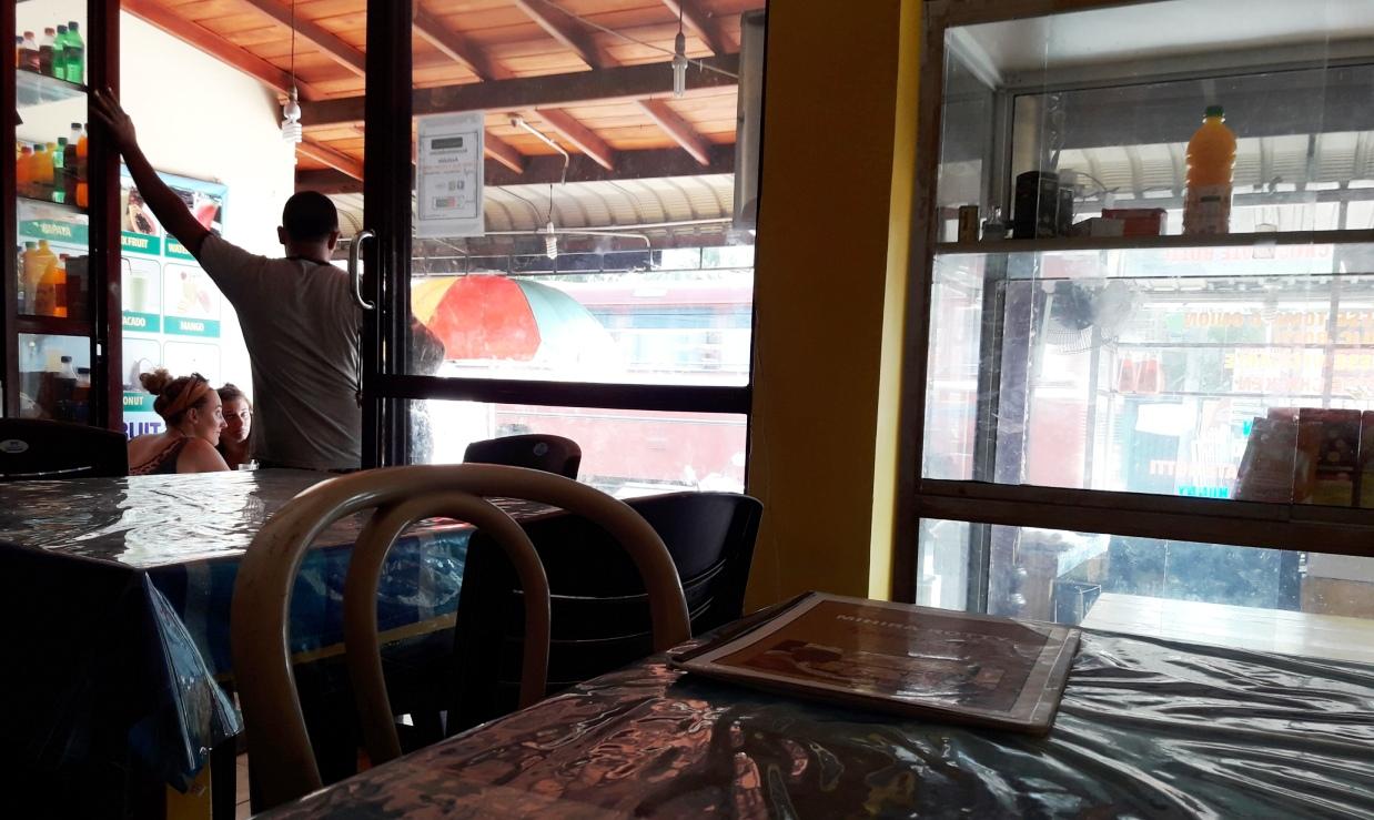 Поесть в Хиккадуве