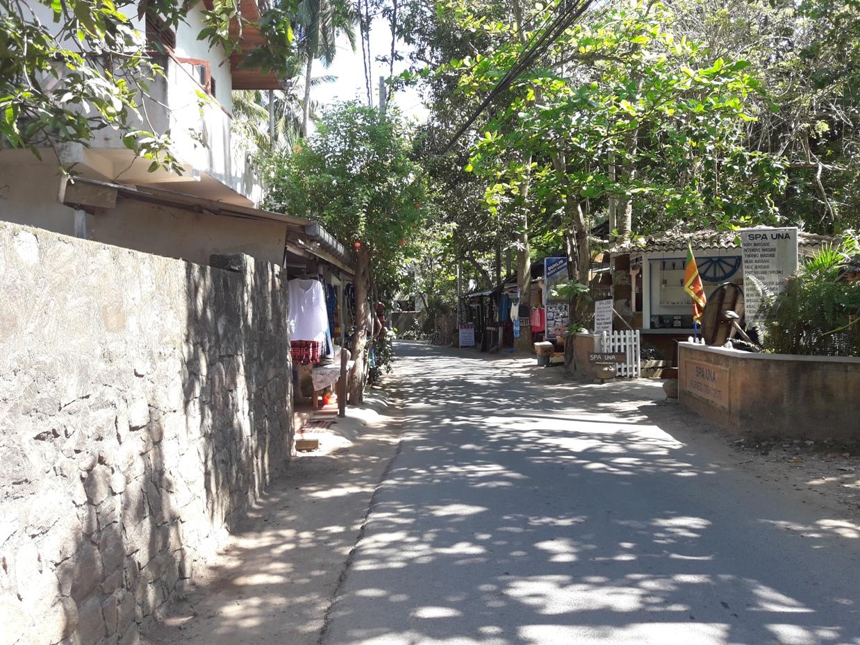 Улицы в Унаватуне