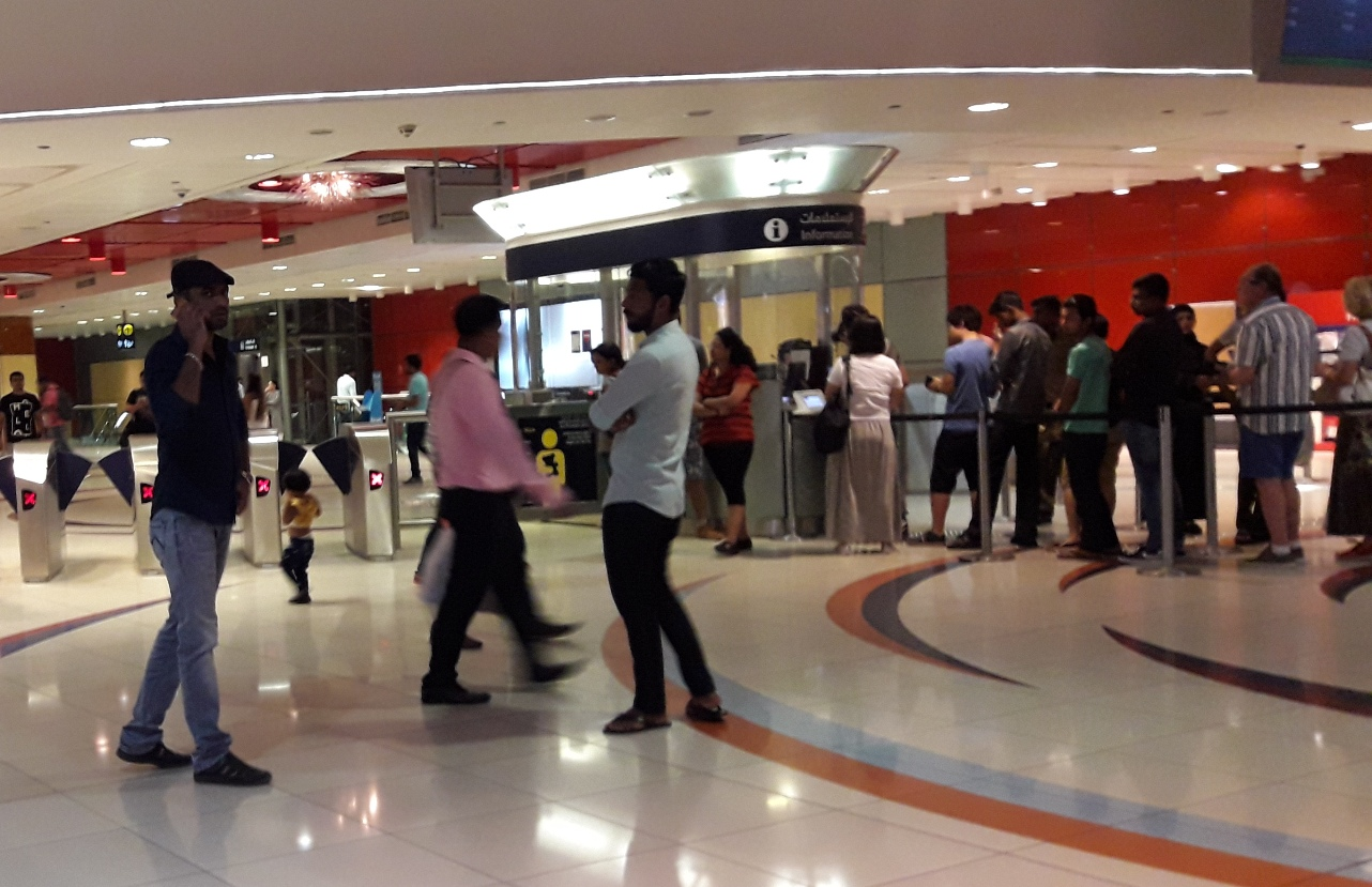 Купить карту для проезда в метро Дубай