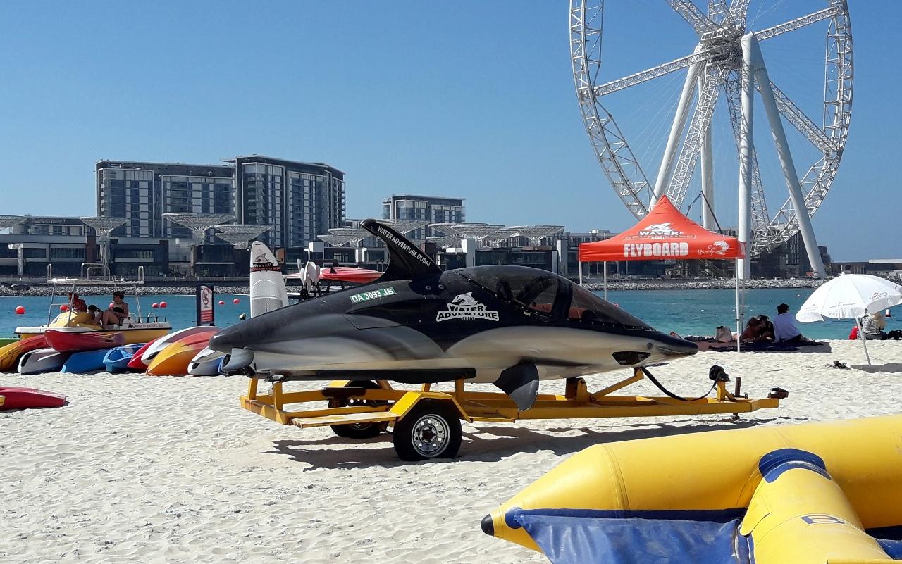 Подводная лодка в виде акулы Дубай